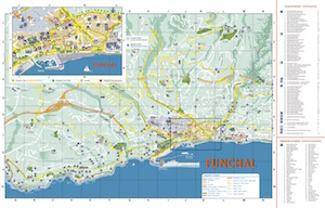 Map of Funchal