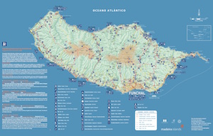 Map of Madeira